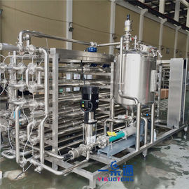 Milk UHT Sterilization Machine / Full Automatic Plate Sterilizer Machine